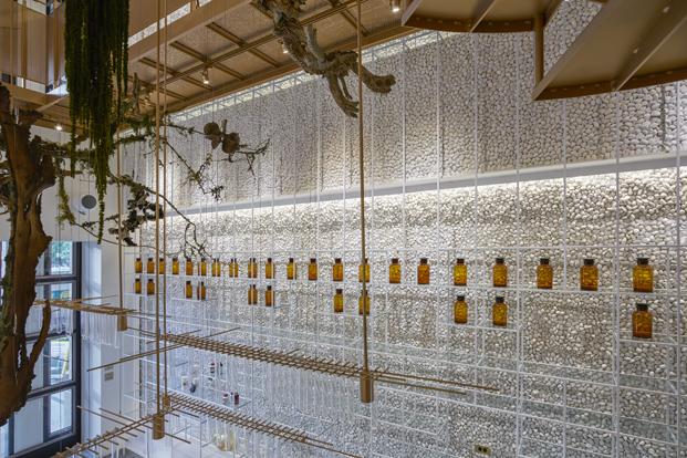 Molecure Pharmacy laboratorio Waterfrom Design diariodesign