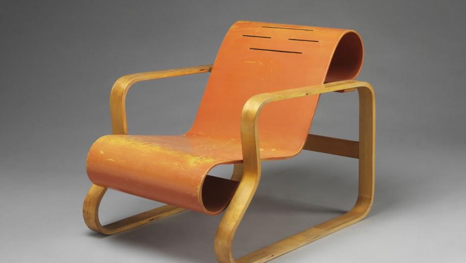 Paimio Armchair de Alvar Aalto en el Victoria and Albert Museum