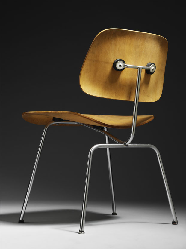 DCM chair de Charles and Ray Eames en el Victoria and Albert Museum