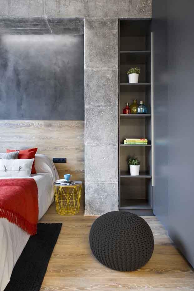 dormitorio casa de diseno en Poblenou en tres actos Egue y Seta diariodesign