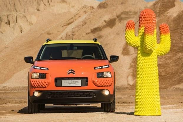 citroen c4 cactus gufram amarillo y naranja diariodesign