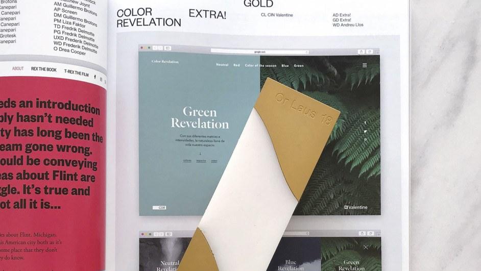 color revelation valentine laus oro 2018 diariodesign