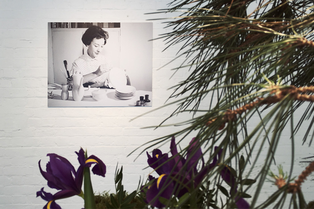 imagen de la disenadora lucienne day flower brick diariodesign