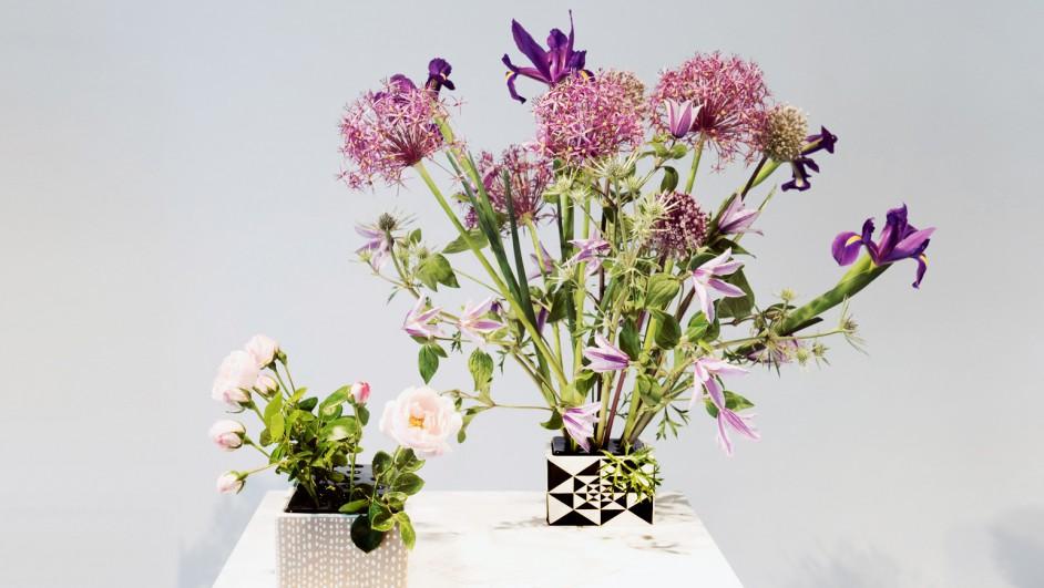 lucienne day macetero flower brick diariodesign
