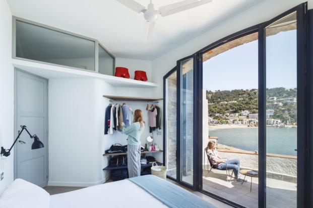 vestidor casa en la costa brava nook arquitectos diariodesign