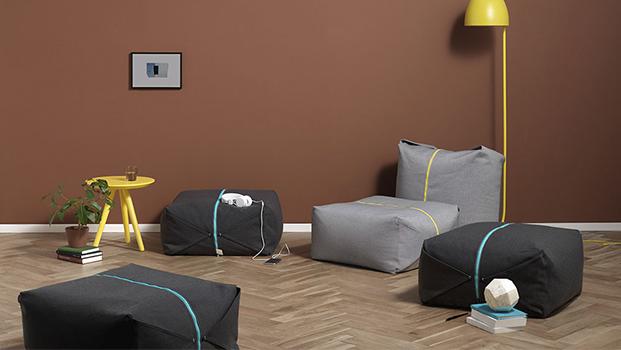 pouf ori de zaozuo de yonoh design diariodesign