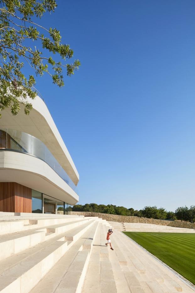 premios de arquitectura waf Gras arquitectos proyecto finalista Tennis Terraces la nueva sede del Mallorca Open diariodesign