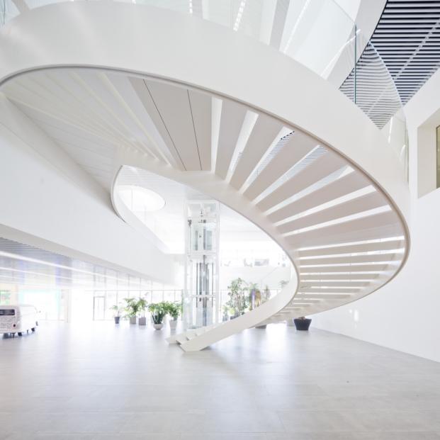escalera premios de arquitectura waf proyecto finalista de Batlle i Roig Arquitectura diariodesign