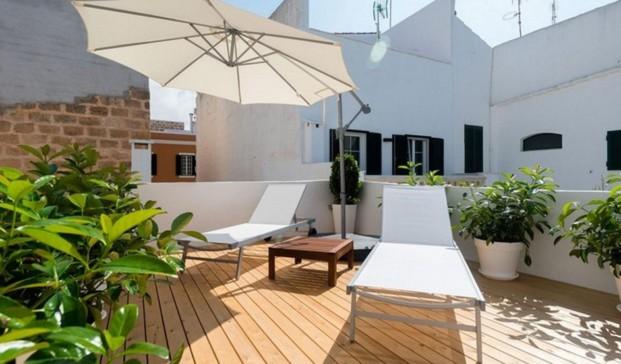 habitaciones con terraza en sodium hotel boutique menorca jung diariodesign