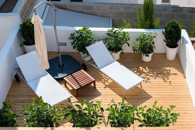 vista aerea terraza sodium hotel boutique menorca jung diariodesign