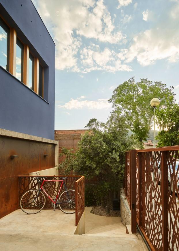 La casa Creueta es una vivienda de los años 50 en Barcelona