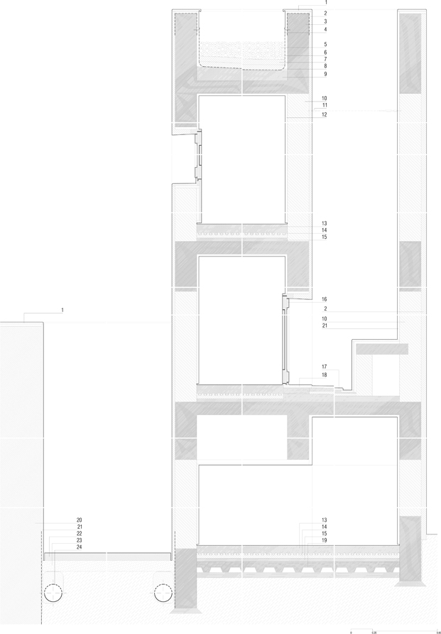 pdistribucion casa em alfama lisboa Matos Gameiro arquitectos diariodesign