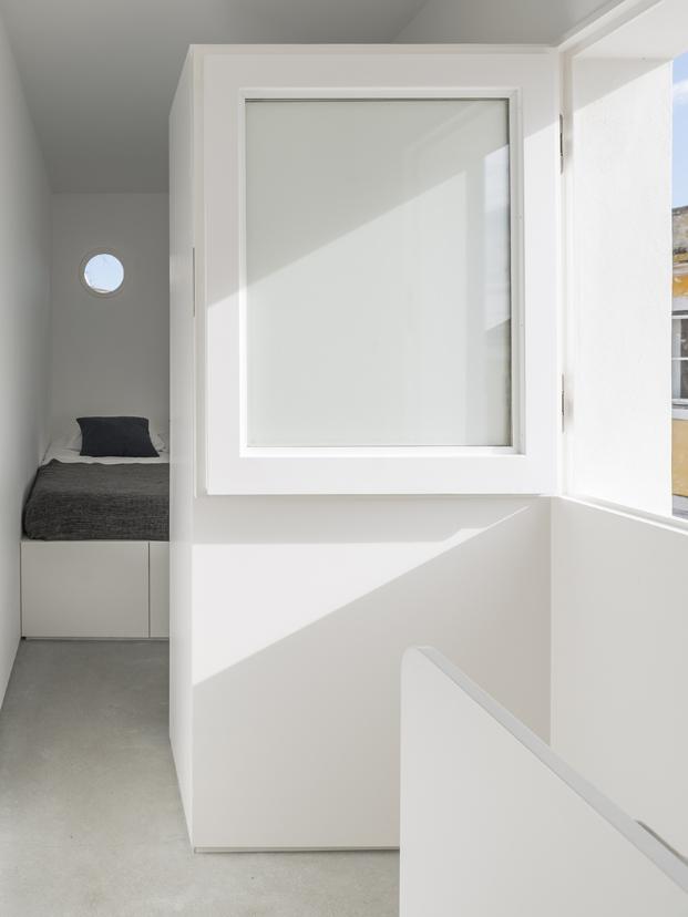 dormitorio Casa em Alfama lisboa Matos Gameiro arquitectos diariodesign
