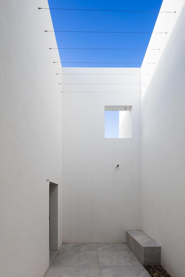 patio casa em alfama lisboa Matos Gameiro arquitectos diariodesign