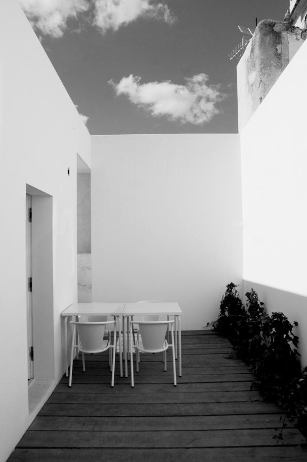terraza Casa em Alfama lisboa Matos Gameiro arquitectos diariodesign