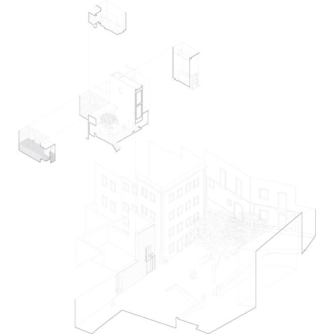 planos casa em alfama lisboa matos gameiro arquitectos diariodesign