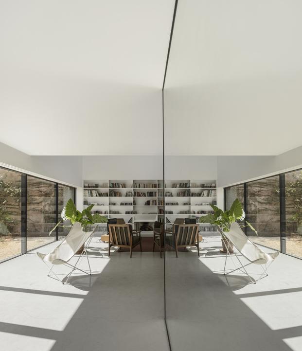 interior La Casa Vermelha una moderna reforma de extrastudio en diariodesign magazine