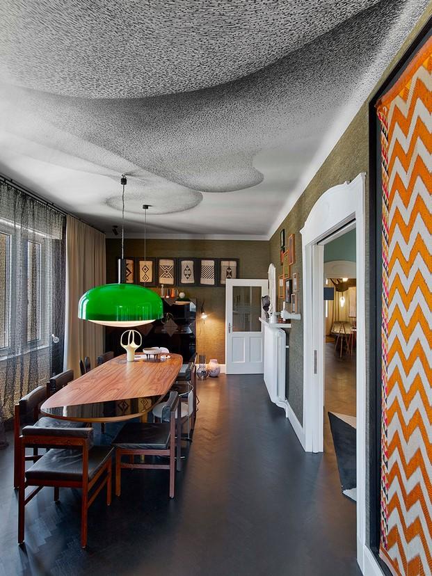 comedor Casa en Stuttgart de Ippolito Fleitz tendencias interiorismo en diariodesign