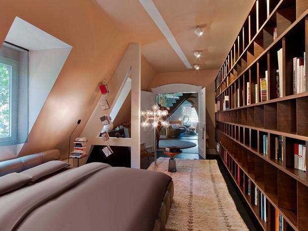 dormitorio Casa en Stuttgart de Ippolito Fleitz tendencias interiorismo en diariodesign