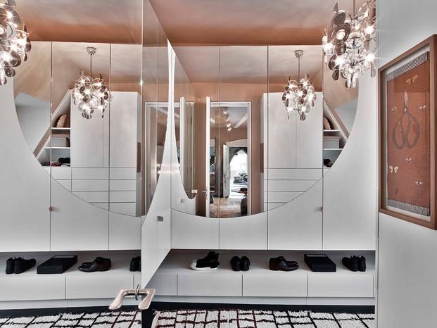 vestidor Casa en Stuttgart de Ippolito Fleitz tendencias interiorismo en diariodesign