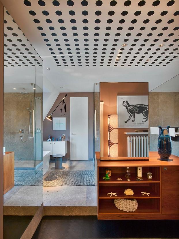 bano Casa en Stuttgart de Ippolito Fleitz tendencias interiorismo en diariodesign