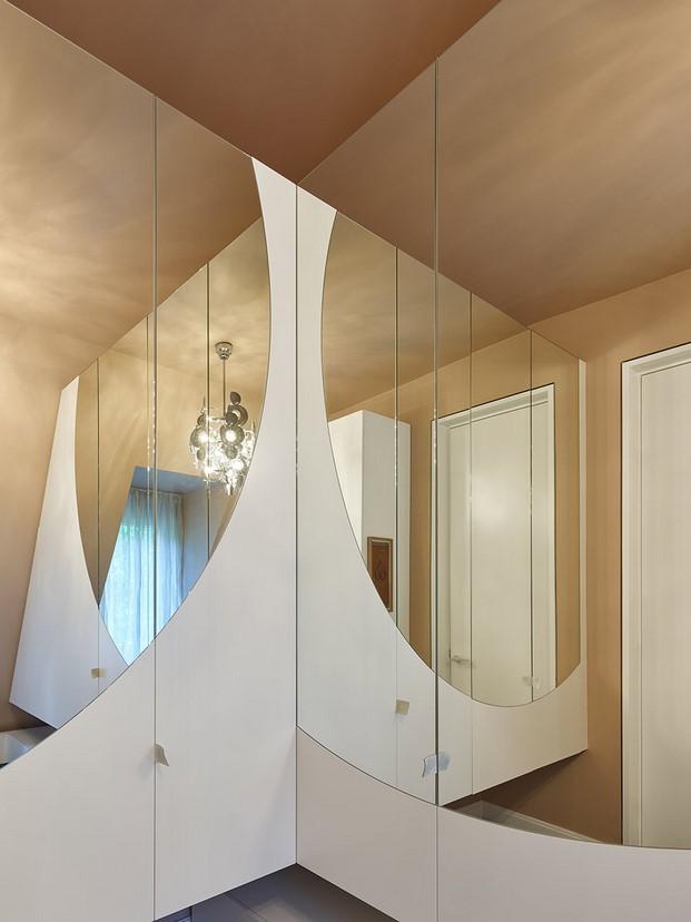 espejos en Casa en Stuttgart de Ippolito Fleitz tendencias interiorismo en diariodesign