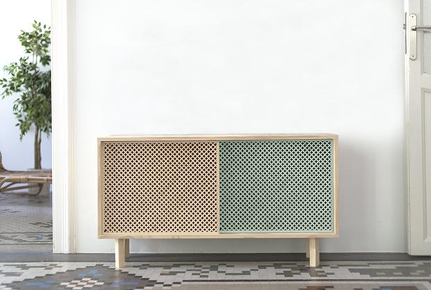 mobiliario de madera natural y verde muebles low cost online Naan furniture diariodesign