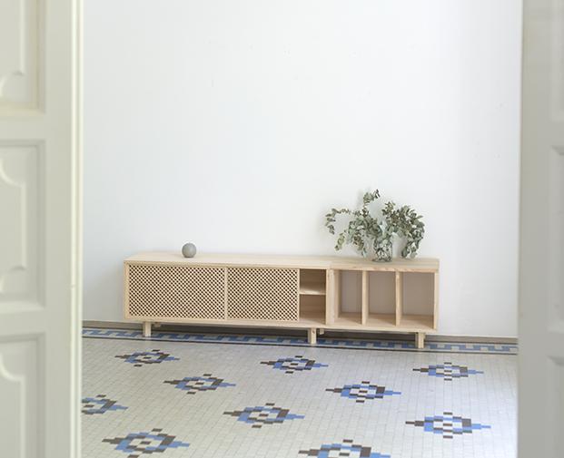aparador de la tienda muebles low cost online Naan furniture diariodesign
