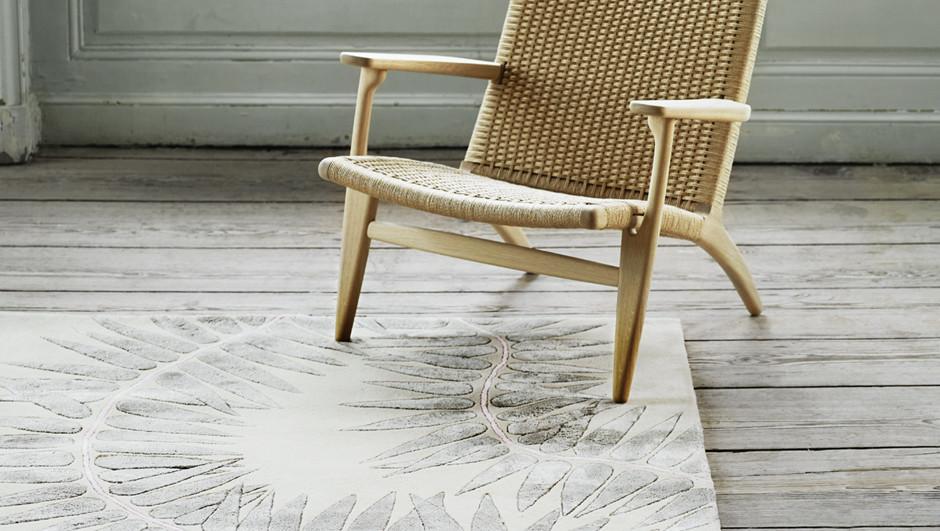 Naja Utzon Popov disena alfombras para Carl Hansen Son diarioDesign