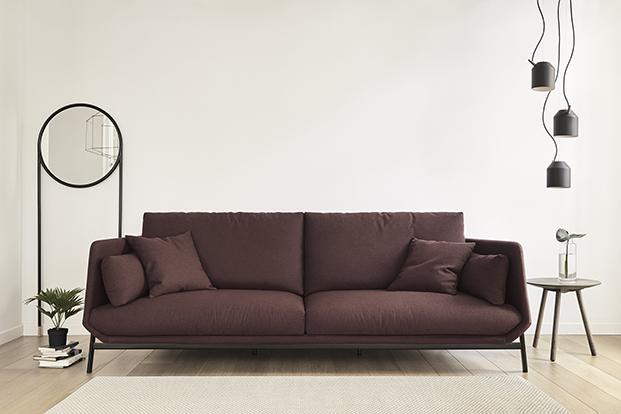 sofa coleccion de mobiliario de hogar Omelette diariodesign