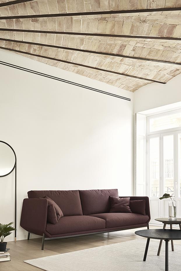 sofa granate coleccion de mobiliairo de hogar Omelette diariodesign