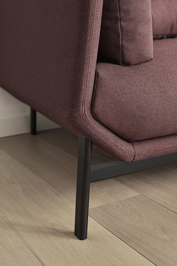 detalle sofa de la coleccion de mobiliairo de hogar Omelette diariodesign