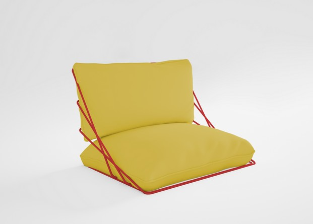 cojin amarillo mobiliario de exterior diabla gandia blasco diariodesign