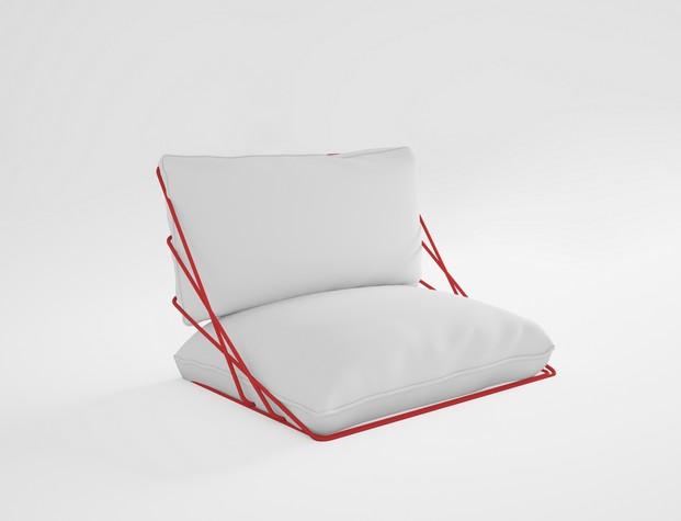 cojin valenitna en blanco mobiliario de exterior diabla gandia blasco diariodesign