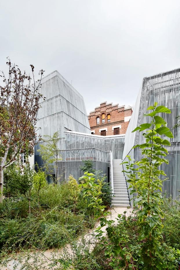 Fundación Francisco Giner de los Ríos en la semana de la arquitectura del coam diariodesign