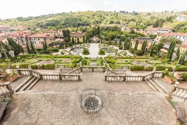 villa garzoni concurso de arquitectura en collodi biblioteca pinochio