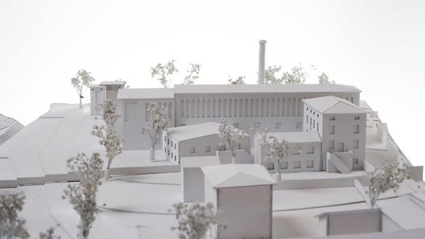 maqueta concurso de arquitectura en collodi biblioteca pinochio