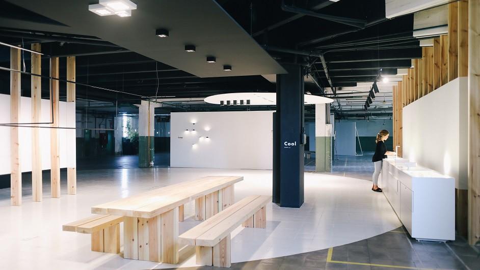 iluminación profesional fluvia showroom diariodesign