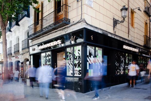 fachada tienda hawkers madrid culdesac diariodesign