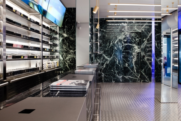 interior tienda hawkers madrid por culdesac diariodesign