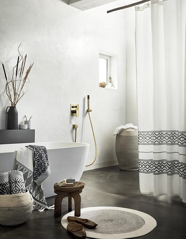 textiles hm home para el bano diariodesign