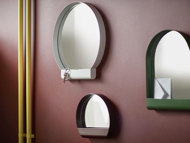 espejos Ypperlig coleccion ikea y hay diariodesign