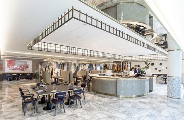 restaurante impar hotel sofia de Jaime Beriestain diariodesign