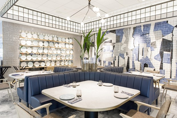 mesas restaurante impar hotel sofia diariodesign