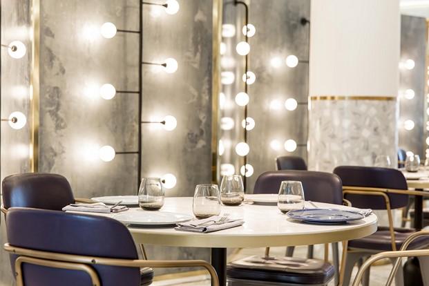 detalle mesa restaurante impar hotel sofia de Jaime Beriestain diariodesign