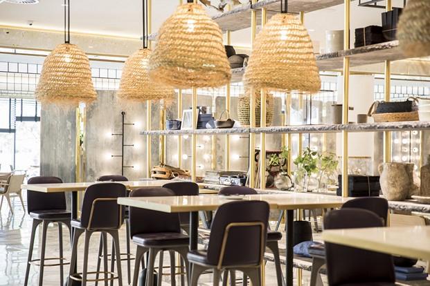 iluminacion restaurante impar hotel sofia de Jaime Beriestain diariodesign