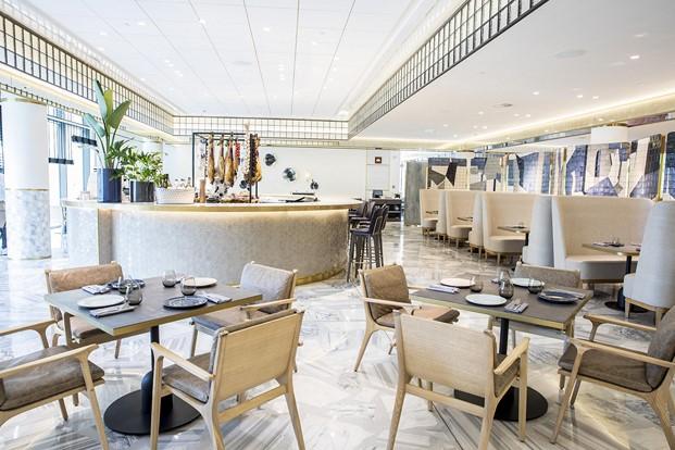 bistro restaurante impar hotel sofia de Jaime Beriestain diariodesign