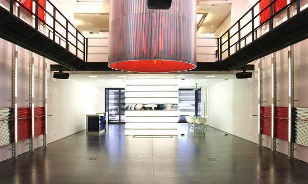 isern serra showroom EMS thecreativenet diariodesign