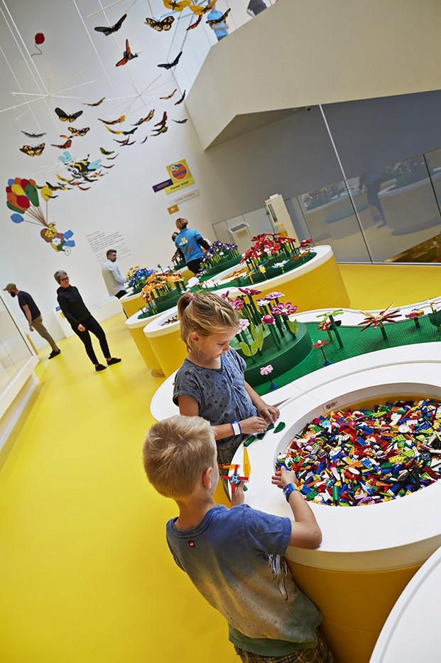 espacio para ninos en la casa de lego house en dinamarca diariodesign
