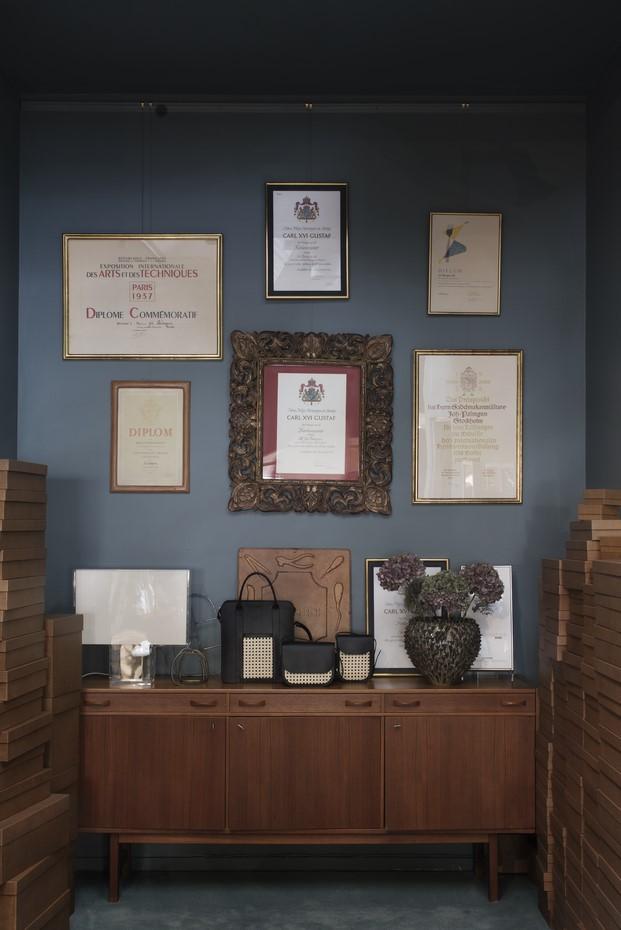 showroom de palmgrens tienda bolso diariodesign